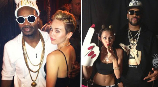 miley in