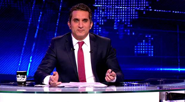 """الدكتور باسم يوسف يوقف """"البرنامج"""" حفاظاً على سلامة الجمهور"""