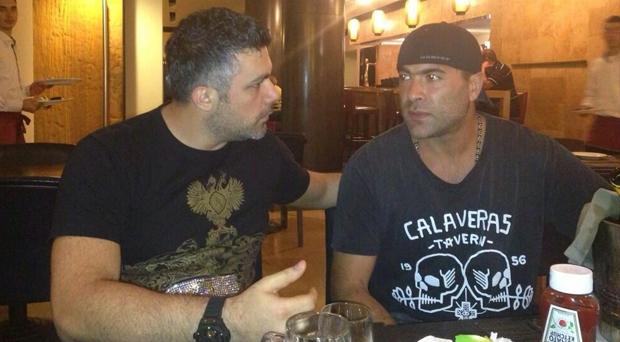 أولاً بالصورة: حين يلتقي فارس كرم ووائل كفوري