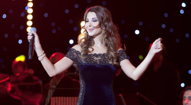 بالصور: نانسي عجرم أحيت حفلاً ناجحاً في لندن