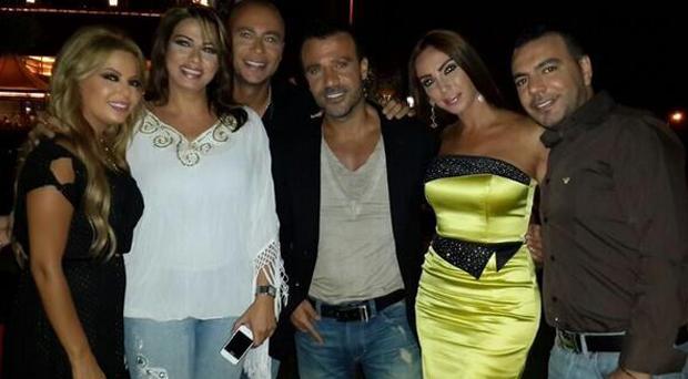 جو أشقر، كارلا بطرس، ليليا الأطرش ولوريت حنينو أناروا ليل رمضان مع رجا ورودولف