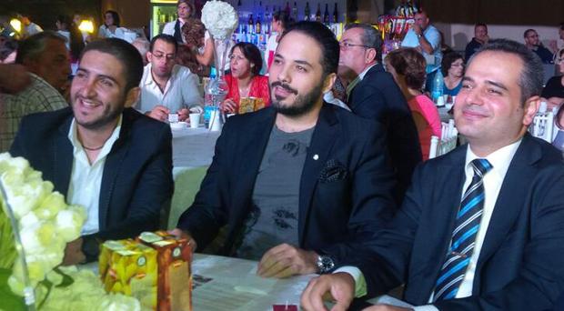 بالصور: رامي عياش في إحتفالية الصليب الأحمر اللبناني في الشوف