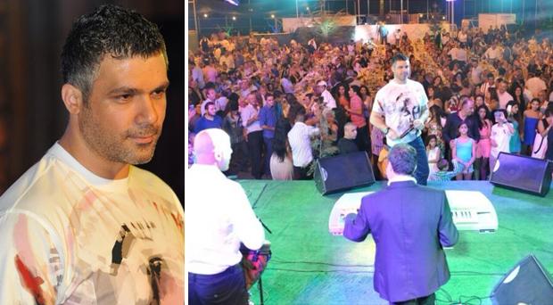بالصور: حفل جماهيري آخر ناجح لـ فارس كرم في المتن الشمالي