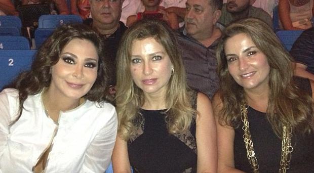 إليسا حضرت حفل زياد الرحباني في أعياد بيروت