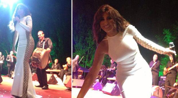 بالصور: سماء البقاع أشرقت ليلاً في حفل شمس الأغنية اللبنانية نجوى كرم