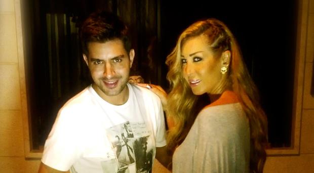 بالصور: نورهان الليلة مع سيرج أسمر في مقابلة خاصة من منزلها في بيروت