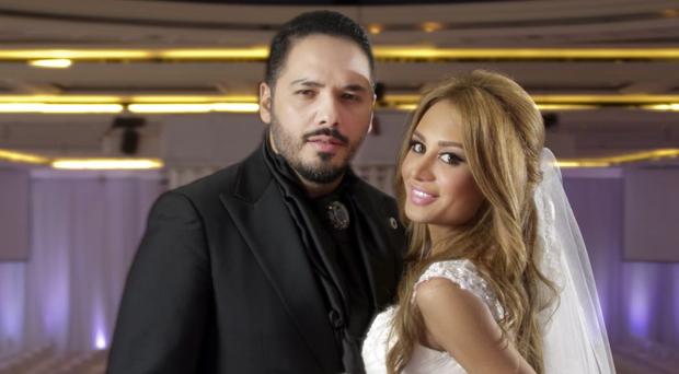 فخامة رئيس الجمهورية اللبنانية العماد ميشال سليمان هنّأ البوب ستار رامي عياش بمناسبة زواجه