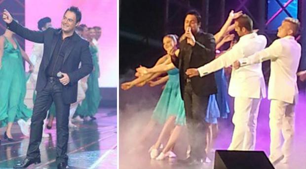 بالصور: عاصي الحلاني فارس إمتلك المسرح وبحضوره توجت كارين غراوي ملكة جمال لبنان