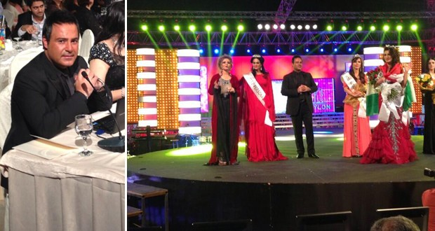 حصري بالفيديو والصور: عاصي الحلاني توّج ملكة جمال كردستان وأشعل المسرح