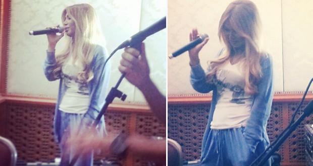 أولاً بالصور: نوال الزغبي في كواليس تدريبات حفلها الخاص في الكويت