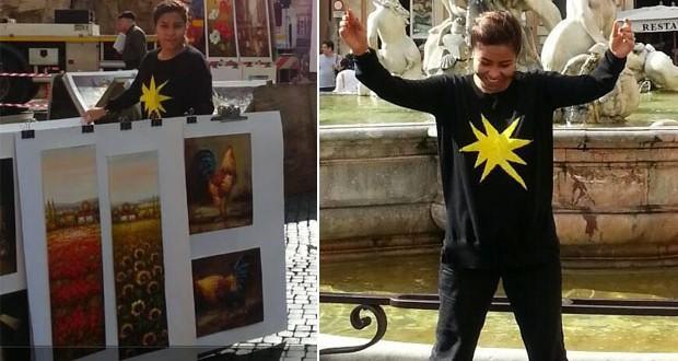 بالصور: شيرين عبد الوهاب في رحلة إستجمامية في روما
