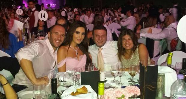 أولاً بالصور: سيرين عبد النور في الـ Big Pink Ball Event في دبي