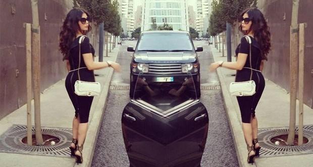 بالصورة: هيفاء وهبي تتجوّل في شوارع بيروت
