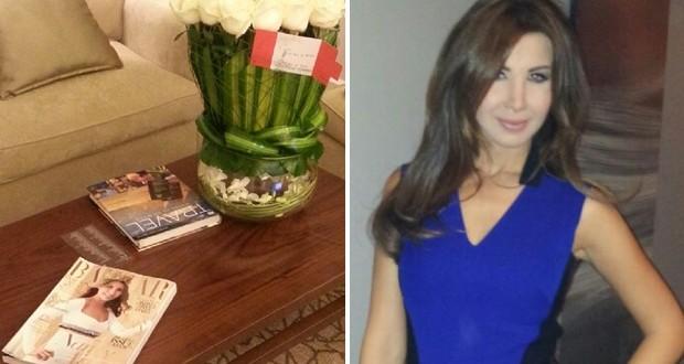 بالصور: نانسي عجرم وصلت دبي للمشاركة في الـ World Of Fashion وإستقبلت إستقبال الملكات