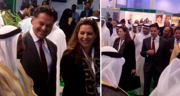 بالصور: حضور قوي وفعّال لسعادة السفير راغب علامة في مؤتمر البيئة