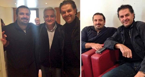 بالصور: سعادة السفير راغب علامة زار دولة الرئيس سعد الحريري في باريس