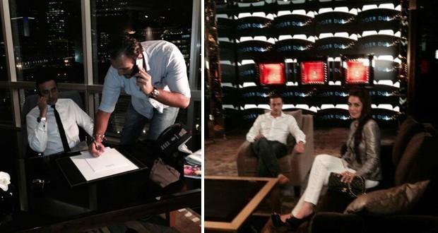 """بالصور: صابر الرباعي صوّر """"اللّي بيتو من زجاج"""" في دبي ويستعد لإصدار ألبومين"""