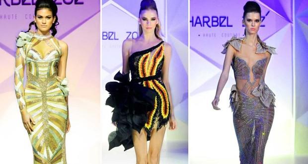 بالصور: المصمّ اللبناني شربل زوي في أسبوع الموضة في دبي