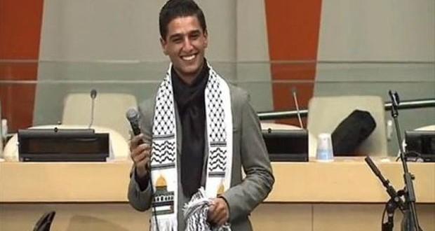 بالصور والفيديو: محمد عساف يغني في مقر الأمم المتحدة