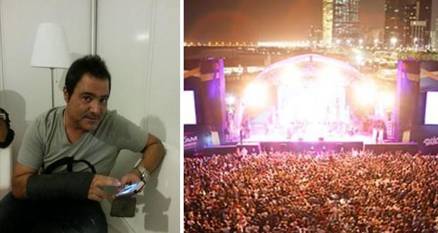 أكثر من 40 ألف شخصاً حضروا لمشاهدة عاصي الحلاني في أبو ظبي