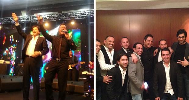 بالصور: عاصي الحلاني أحيا عيد الإستقلال اللبناني في دبي ووليد توفيق شاركه على المسرح