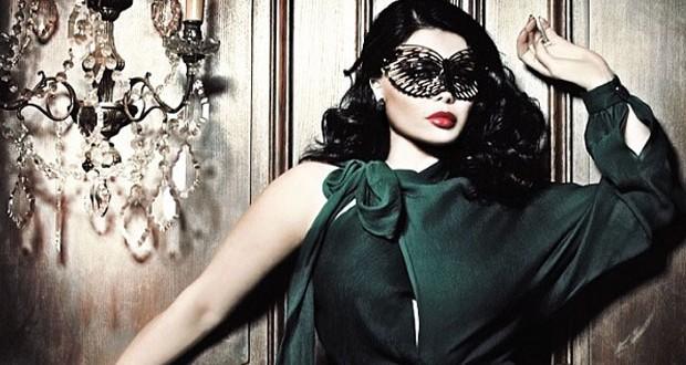 بالصورة:هيفاء وهبي إرتدت القناع في الـ Halloween