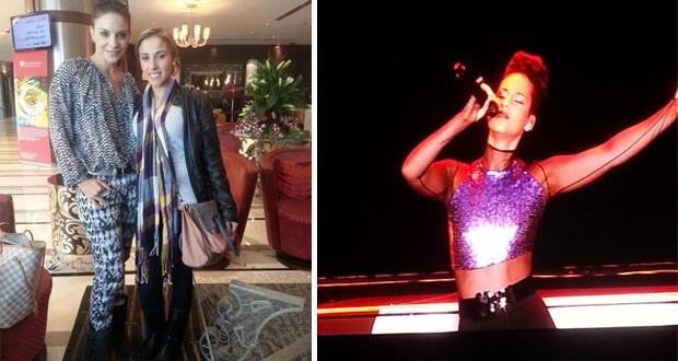 بالصور: هيلدا خليفة وليليا في دبي إلى حفل Alicia Keys وما مصير اليوميات؟