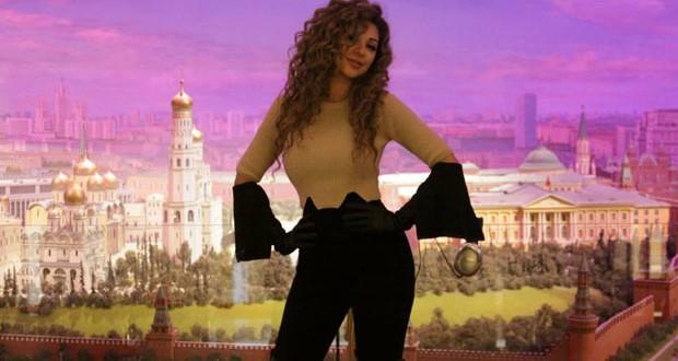 بالصور: ميريام فارس في روسيا وصورها الأكثر إنتشاراً على مواقع التواصل الإجتماعي