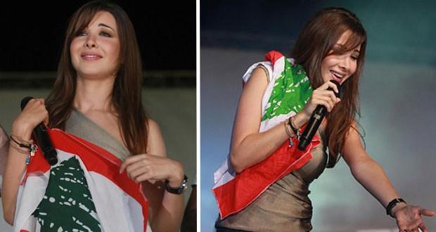 بالصورة: نانسي عجرم عايدت لبنان والشعب اللبناني بمناسبة عيد الإستقلال