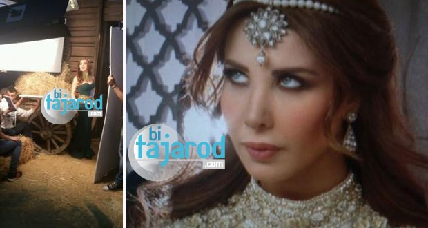 خاص وحصري: الصور الأولى من فيديو كليب نانسي الخليجي وإعلان الفيديو كليب مع جو بو عيد خلال أيام
