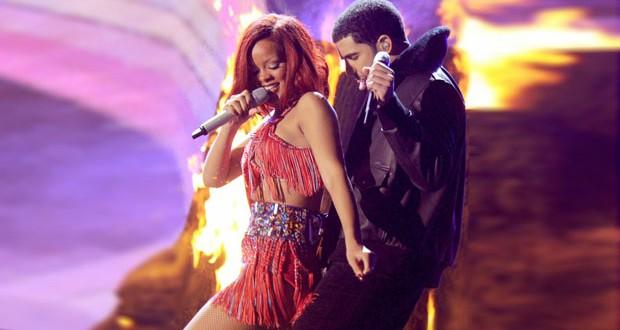 بالفيديو: غناء Rihanna و Drake في حفلته يزيد الشكوك