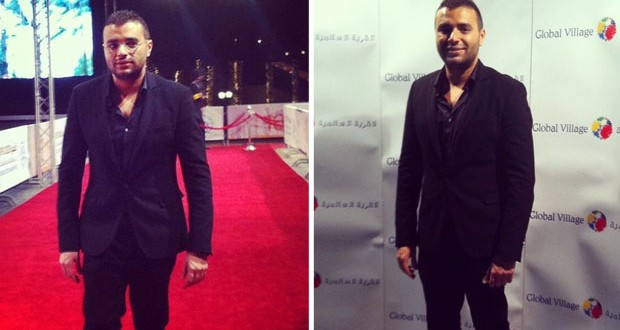 بالصور: رامي صبري في حفل مهرجان دبي السينمائي الدولي