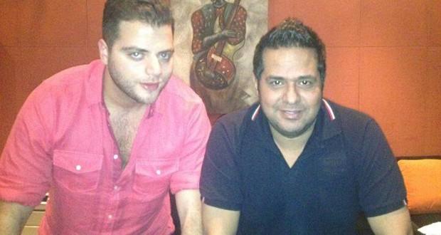 بالصورة: عامر زيان مع حاتم العراقي في الإستوديو وهذا هو السبب