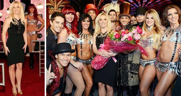بالصور والفيديو: Britney Spears إحتفلت بعيد ميلادها في لاس فيغاس مع راقصات إستعراضيات