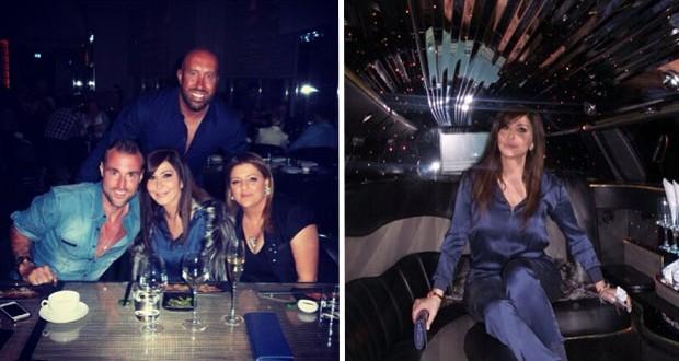بالصور: إليسا في دبي مع أصدقائها وتتحضّر لليلة رأس السنة