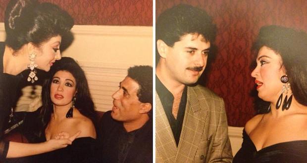 بالصور: فيفي عبده مع راغب علامة، أحمد زكي ونبيلة عبيد من الأرشيف