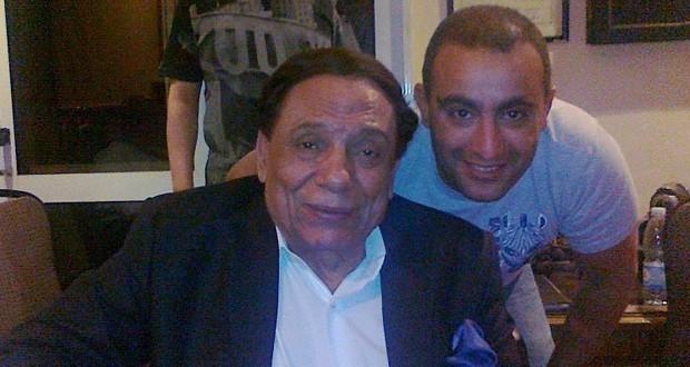 بالصورة: عادل إمام وأحمد السقا معاً، فهل من عمل يجمعهما؟