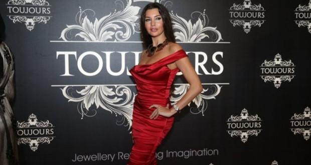 بالصور: لاميتا فرنجية في حفل إطلاق مجموعة جديدة من مجوهرات Toujours Jewellery