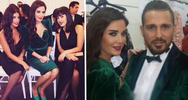 بالصور: سيرين عبد النورخطفت الأنظار ورافقتها كوليت إسكندر ومايا حدّاد في عرض أنطوان القارح