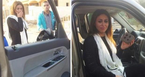 بالفيديو: أوّل ظهور لمي سليم بعد الإعتداء عليها وهذا ما قالته