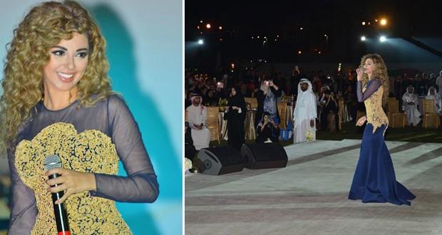بالصور: ميريام فارس ألهبت الإمارات والجماهير توافدت من كافة أقطار الخليج لمشاهدتها