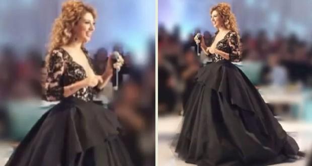 بالصور والفيديو: ميريام فارس Barbie بالأسود وملكة على مسارح الكويت