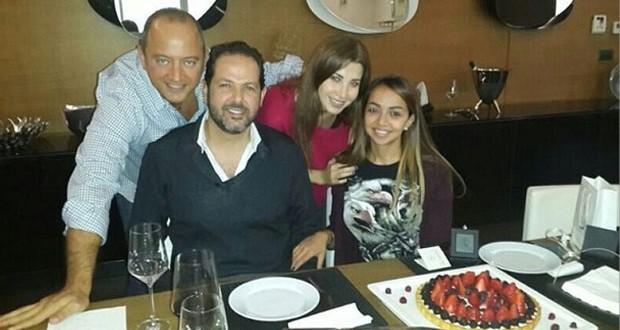 بالصور: نانسي عجرم مع العائلة والأصدقاء في أجواء مميّزة