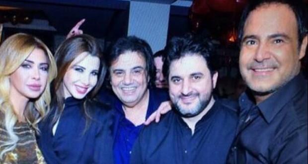 بالصورة: عاصي الحلاني وأحلى جمعة مع نانسي عجرم، نوال الزغبي، ملحم زين وسمير صفير