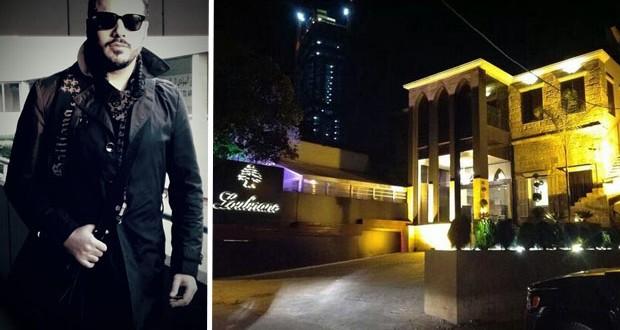 """بالصورة: رامي عياش يستعدّ لإفتتاح مطعمه """"لبنان"""""""
