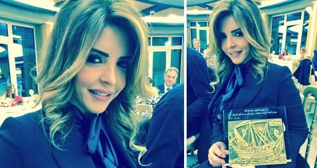 بالصور: ريما نجيم تكرّم من جامعة الـNDU وفخر للبنان والإعلام العربي