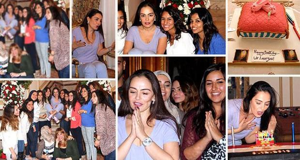 بالصور: شريهان إحتفلت بعيد ميلادها وتستعد للعودة إلى الشاشات