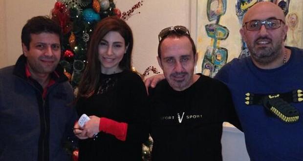 بالصورة: يارا على العشاء مع وسام الأمير، جاد نخلة، وطارق أبو جودة