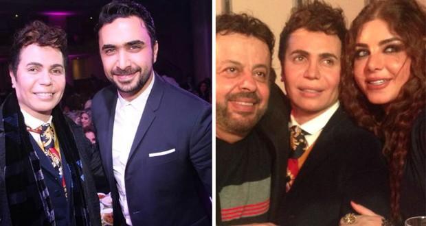 بالفيديو والصور:أيمن زبيب إحتفل بعيد ميلاده بحضور نادر الأتات، جو رعد وإيلي أيوب