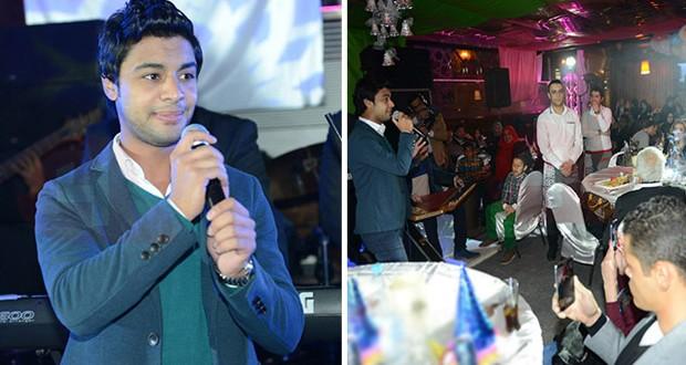 بالصور: أحمد جمال تألق ليلة رأس السنة ويُطلق جديده قريباً